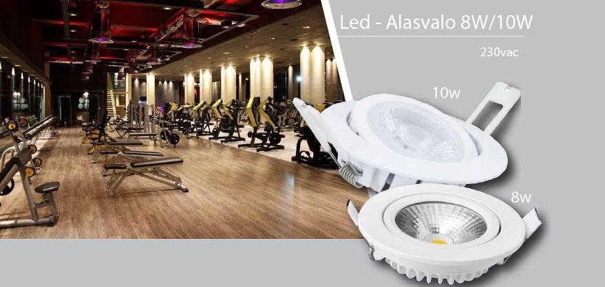 Led - Alasvalo 8W/10W